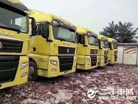 中国重汽 汕德卡 C7H重卡 540马力 6X2R牵引车(ZZ4256V323HE1)
