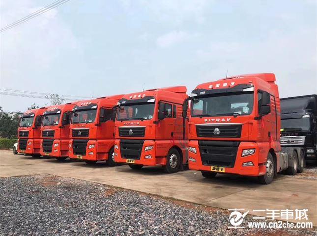 中国重汽 SITRAK C7H 6X2R 540马力牵引车