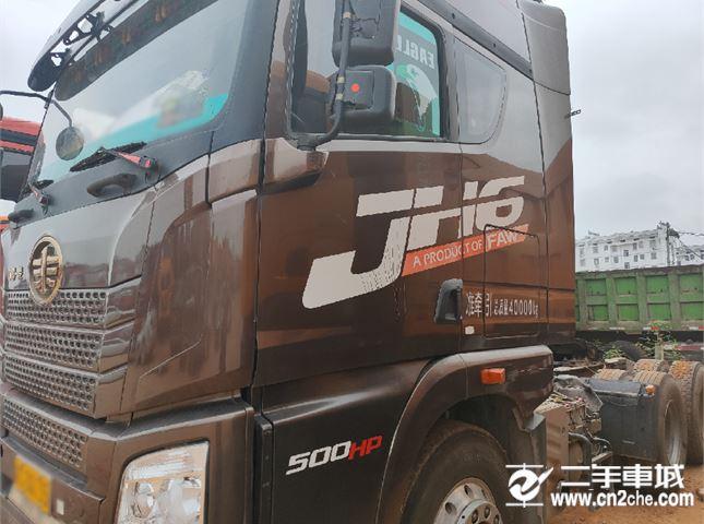 青岛解放 JH6 轻卡500马力牵引车