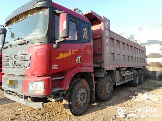 陕汽重卡 德龙X3000 430马力 8X4 8.6米自卸车(SX33105C486B)