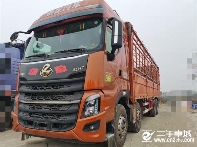 东风柳汽 乘龙H7 460马力前四后八高栏载货车