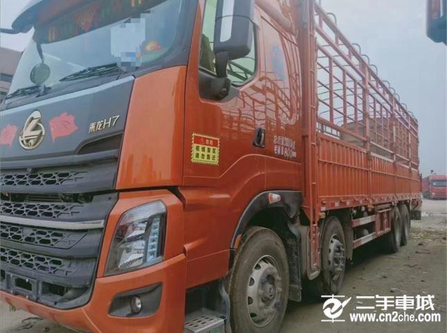 东风柳汽 乘龙H7 重卡460马力6X4 9.47米厢式载货车