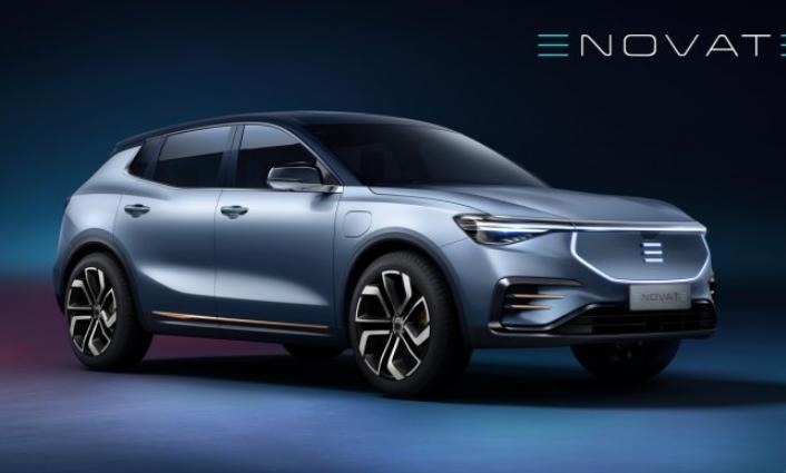 ENOVATE首款车型官图发布 定位中型SUV