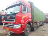解放 新大威 载货车 重卡 290马力 8X4 前四后八  厢式
