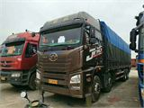 青岛(解放) JH6 载货车 JH6重卡 350马力 8X4 9.5米仓栅式载货车
