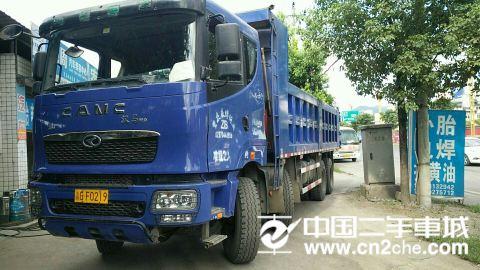 华菱 汉马 H9 8X4 375马力 自卸车