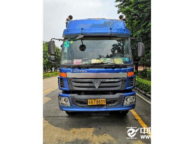 福田 奥铃 中卡 154马力 4X2 栏板载货车(BJ1139VJPEK-FB)