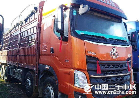 东风柳汽 乘龙 H7重卡 350马力 8X4 9.6米栏板