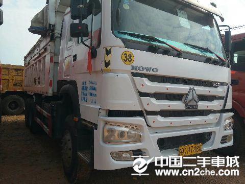中国重汽 豪沃 340马力自卸车