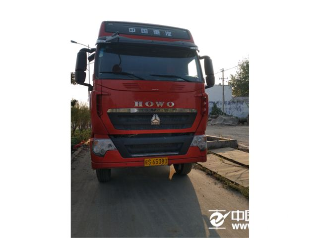 中国重汽 豪沃T7 400重型花栏自卸车