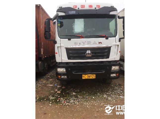 中国重汽 汕德卡 340马力,冷藏车