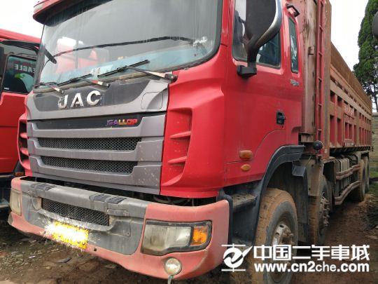 江淮 江淮格爾發H系列 375前四后八自卸車