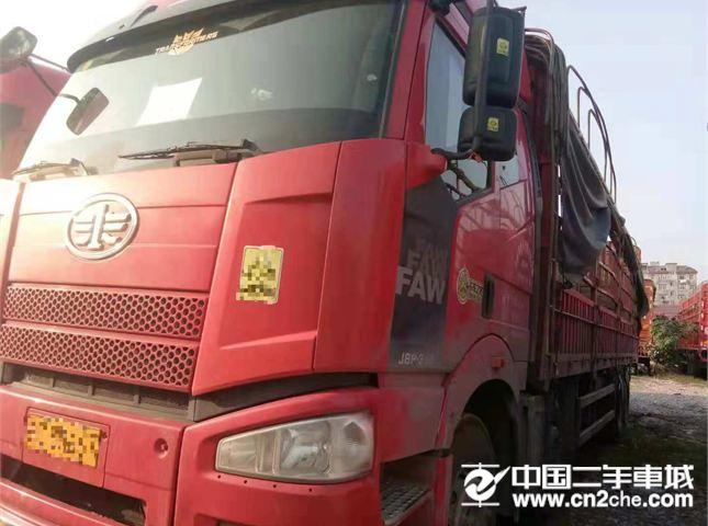 一汽解放 J6P 载货车 重卡 350马力 8×4 栏板式 排半 载货车(CA1310P66K2L7T4E5)