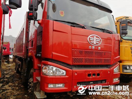 一汽解放 J6P 350马力,自卸车
