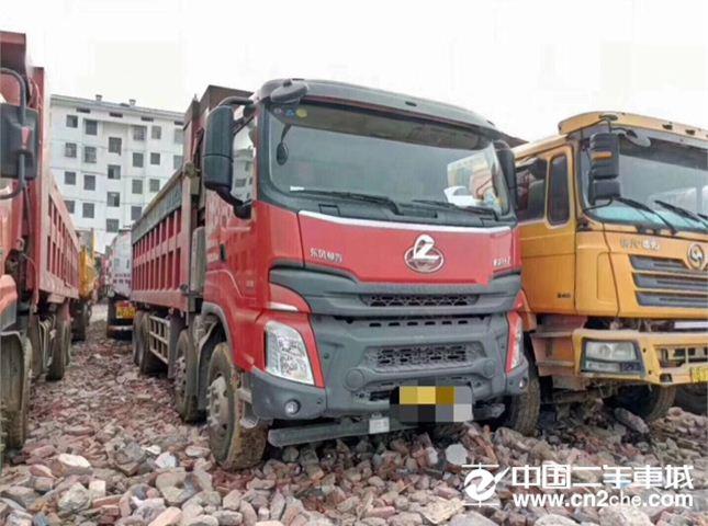 东风柳汽 乘龙 350动力8X4自卸车