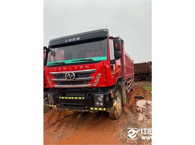 上汽红岩 金刚 M500 8X4 430马力自卸车