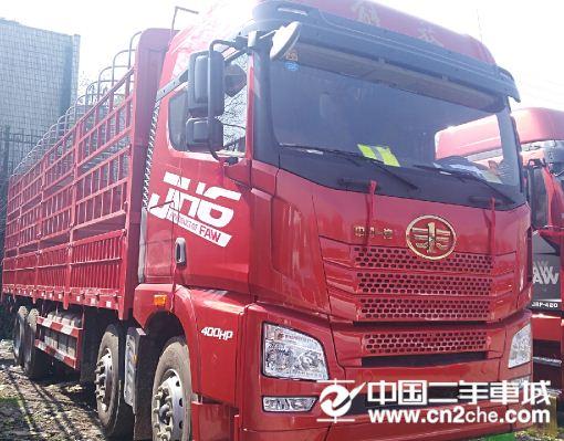 青岛解放 JH6 JH6重卡 420马力 8X4 9.5米仓栅式载货车