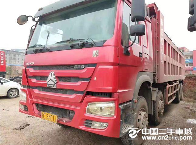 中国重汽 豪沃 自卸车 HOWO 重卡 380马力 8×4 自卸车