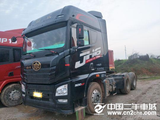 青岛解放 JH6 500马力牵引车头