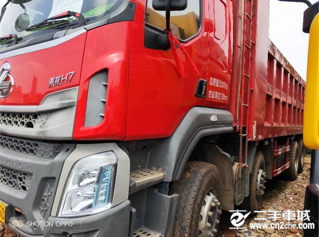 东风柳汽 乘龙 350马力7.2米货箱