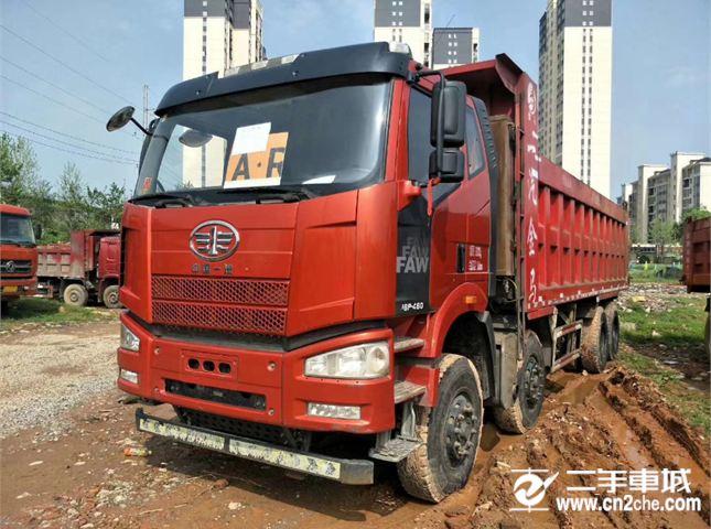 一汽解放 J6P 460马力自卸车