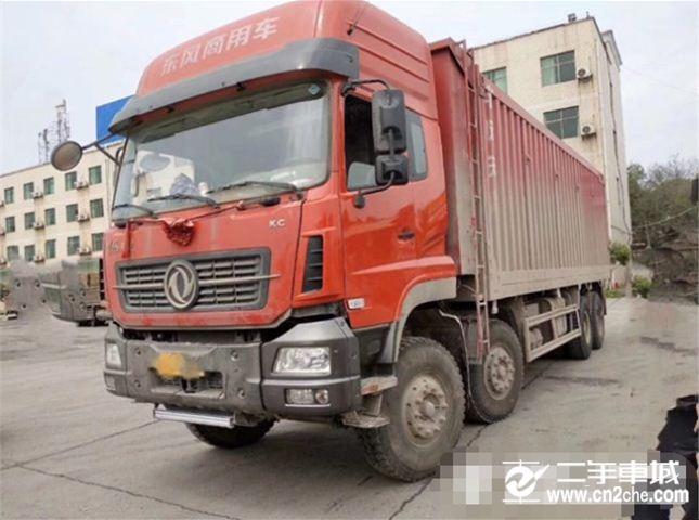 东风 天龙 KC,420动力8X4自卸车