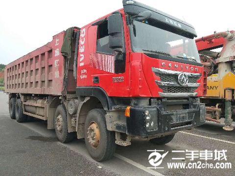 上汽紅巖 杰獅 C100重卡 430馬力 8X4 7.8米自卸車(高頂)(CQ3315HXVG426