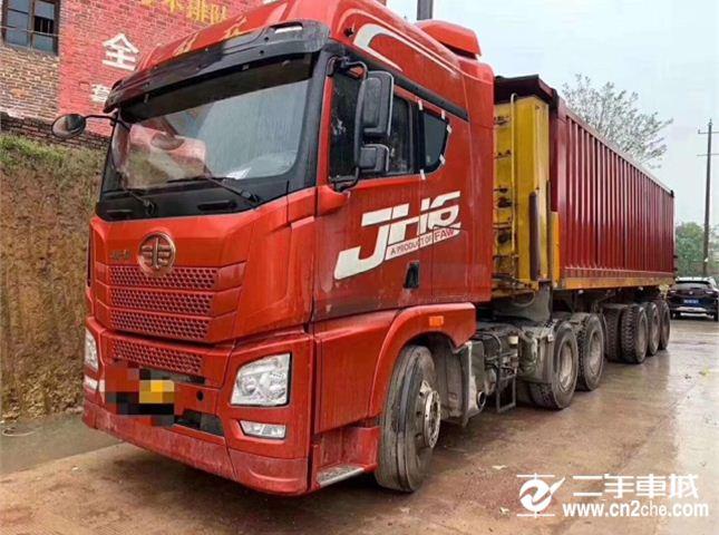 青島解放 JH6 460動力6X4牽引車