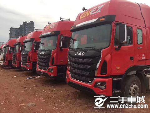 江淮 江淮格尔发K系列 K5W重卡 轻量化版 460马力 6X2牵引车(HFC4251P12K7D26S1V)