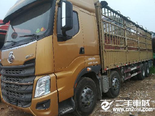東風柳汽 乘龍 H7重卡 350馬力 8X4 9.6米排半倉柵式