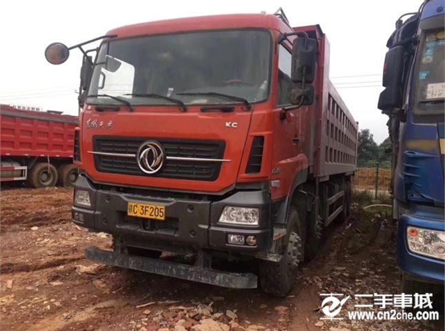 东风 天龙 KC420动力8X4自卸车