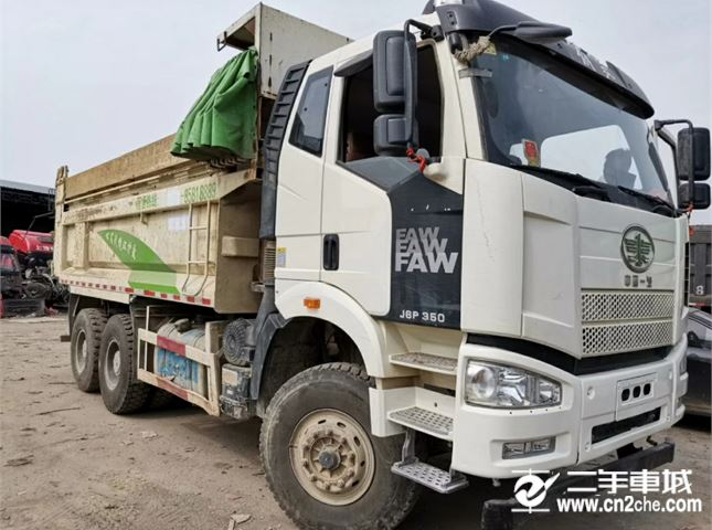 一汽解放 J6P 重卡350馬力6X4自卸車5.8米