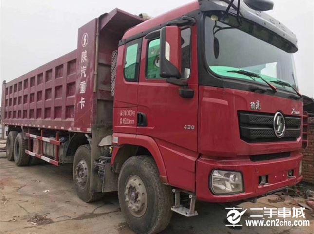 陕汽重卡 德龙X3000 430动力8X4自卸车
