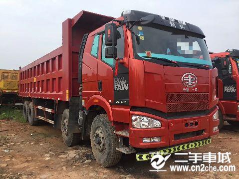 一汽解放 J6P 重卡460馬力8X4自卸車8.2米