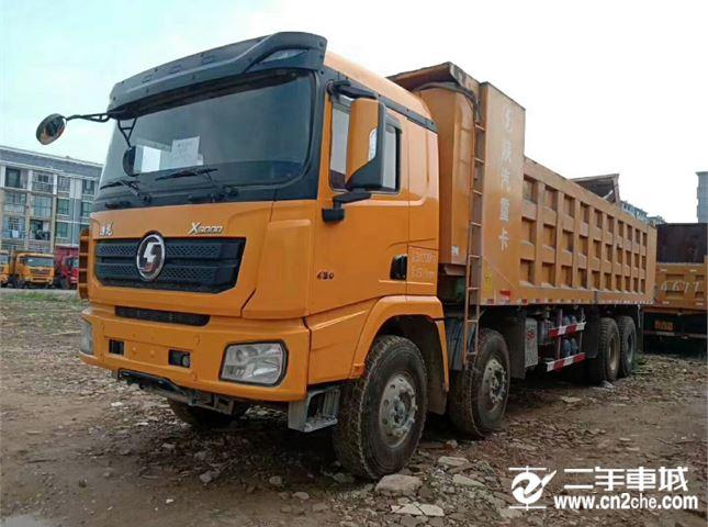 陕汽重卡 德龙X3000  重卡 430马力 8×4 自卸车
