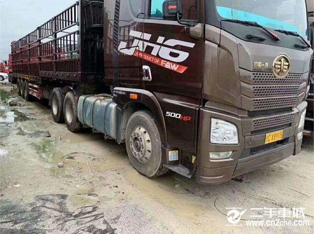 一汽解放 J6P 牵引车 高原版 J重卡 500马力 6X4牵引车(CA4250P66K25T1A1