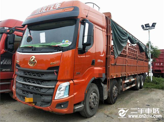 東風柳汽 乘龍 H7重卡 350馬力 8X4 9.6米倉柵式