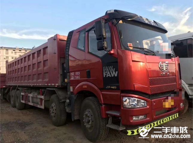 一汽解放 J6P 420馬力自卸車
