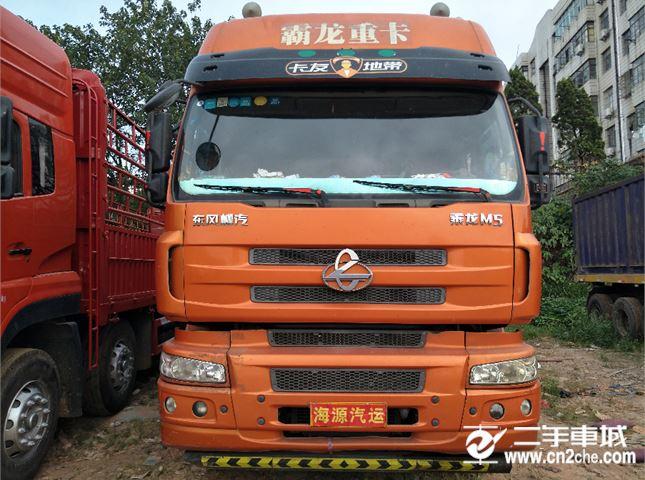 東風柳汽 乘龍M5 350馬力 前四后八