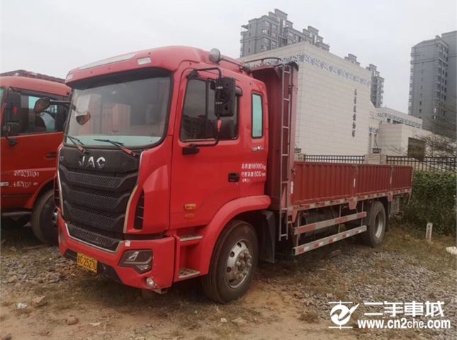 江淮 江淮格尔发K系列 180动力4X2单桥平板车