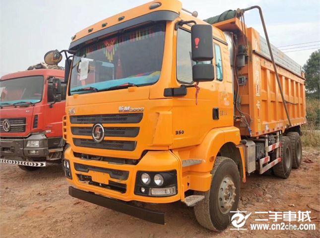陕汽重卡 德龙M3000 350动力6X4自卸车