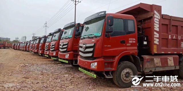 福田 欧曼 ETX350动力6X4自卸车