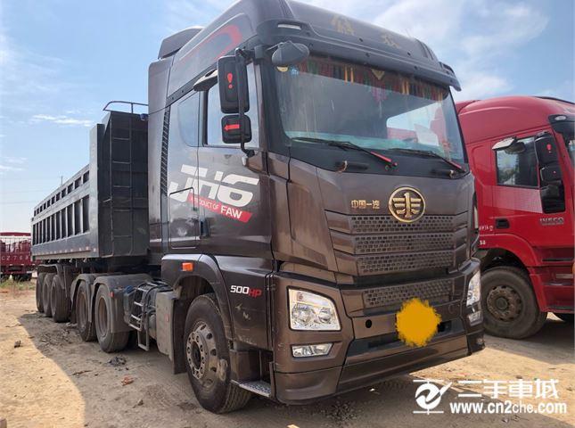 青岛解放 JH6 500马力6X4牵引车