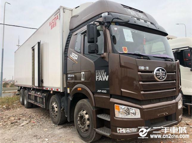 一汽解放 J6P 460动力8X4冷藏车