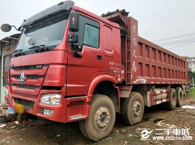 中國重汽 豪沃 前四后八自卸車