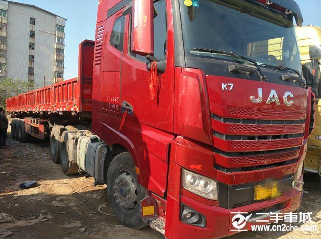 江淮 江淮格爾發K系列 K7重卡 舒適版 540馬力 6X4牽引車(HFC4252P13K7E33S7V)