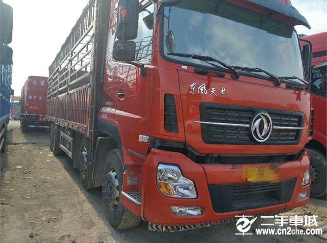 东风 天龙 350马力 8×4 栏板式载货车(DFL1311A9)