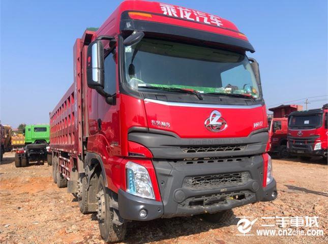 东风柳汽 乘龙H7 400马力8X4自卸车