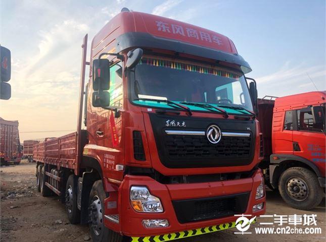 东风 天龙 VL350动力8X4载货车