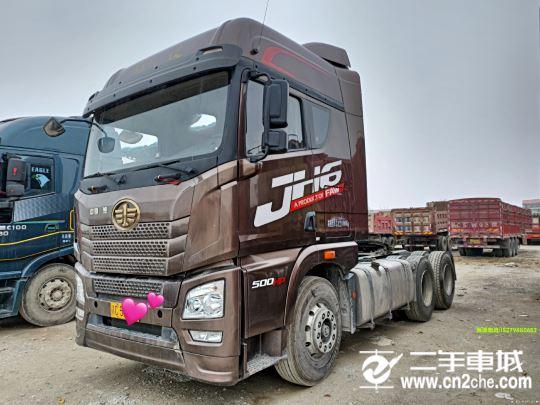 青島解放 JH6 500馬力牽引車頭